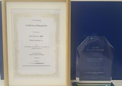We Won the Nagao Award from the Asia-Pacific Association for Machine Translation (AAMT)!
